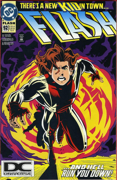 Cover for Flash (DC, 1987 series) #92 [Direct Sales]