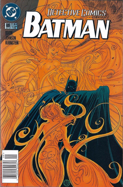 Cover for Detective Comics (DC, 1937 series) #689 [Direct Edition]