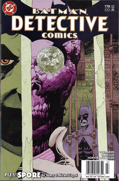 Cover for Detective Comics (DC, 1937 series) #778 [Direct Edition]