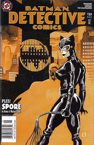 Cover for Detective Comics (DC, 1937 series) #780 [Direct Edition]