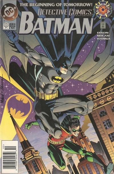 Cover for Detective Comics (DC, 1937 series) #0 [Direct Edition]