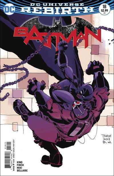 Cover for Batman (DC, 2016 series) #18