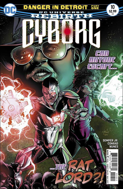 Cover for Cyborg (DC, 2016 series) #10 [Will Conrad Cover]
