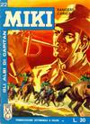 Cover for Gli Albi di Capitan Miki (Casa Editrice Dardo, 1962 series) #22