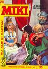 Cover for Gli Albi di Capitan Miki (Casa Editrice Dardo, 1962 series) #28