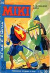 Cover for Gli Albi di Capitan Miki (Casa Editrice Dardo, 1962 series) #29