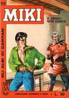 Cover for Gli Albi di Capitan Miki (Casa Editrice Dardo, 1962 series) #113