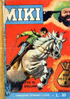Cover for Gli Albi di Capitan Miki (Casa Editrice Dardo, 1962 series) #126