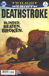 Cover Thumbnail for Deathstroke (2016 series) #14 [Bill Sienkiewicz Cover Variant]