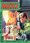 Cover for Gli Albi di Capitan Miki (Casa Editrice Dardo, 1962 series) #136