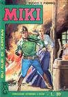 Cover for Gli Albi di Capitan Miki (Casa Editrice Dardo, 1962 series) #143