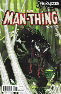 Cover Thumbnail for Man-Thing (Marvel, 2017 series) #1 [Incentive Stephanie Hans 'Venomized' Variant]