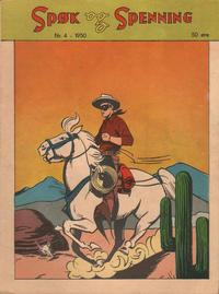 Cover Thumbnail for Spøk og Spenning (Oddvar Larsen; Odvar Lamer, 1950 series) #4/1950