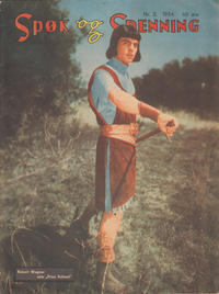 Cover Thumbnail for Spøk og Spenning (Oddvar Larsen; Odvar Lamer, 1950 series) #2/1954