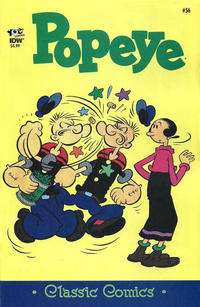 Cover Thumbnail for Classic Popeye (IDW, 2012 series) #56