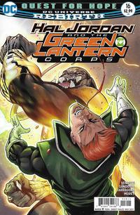 Cover Thumbnail for Hal Jordan and the Green Lantern Corps (DC, 2016 series) #16 [Rafa Sandoval / Jordi Tarragona Cover]
