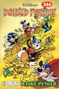 Cover Thumbnail for Donald Pocket (Hjemmet / Egmont, 1968 series) #344 - Raske penger [1. opplag]