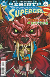 Cover Thumbnail for Supergirl (DC, 2016 series) #7