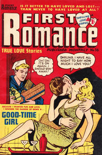 Cover Thumbnail for First Romance (Magazine Management, 1952 series) #16