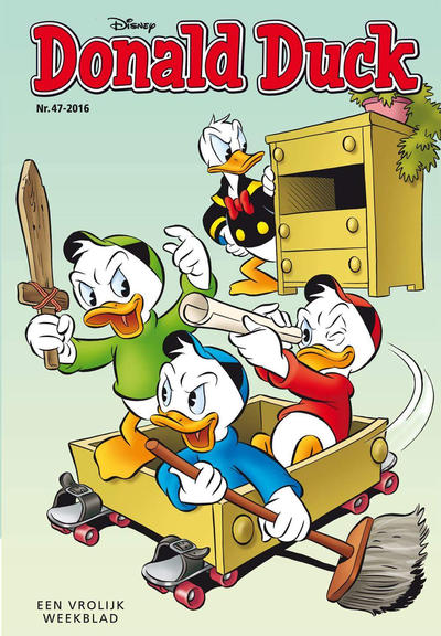 Cover for Donald Duck (Sanoma Uitgevers, 2002 series) #47/2016