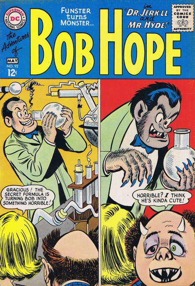 Cover for The Adventures of Bob Hope (DC, 1950 series) #92