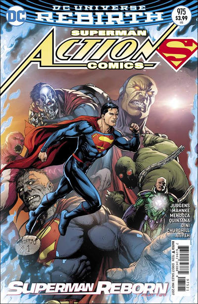 Cover for Action Comics (DC, 2011 series) #975