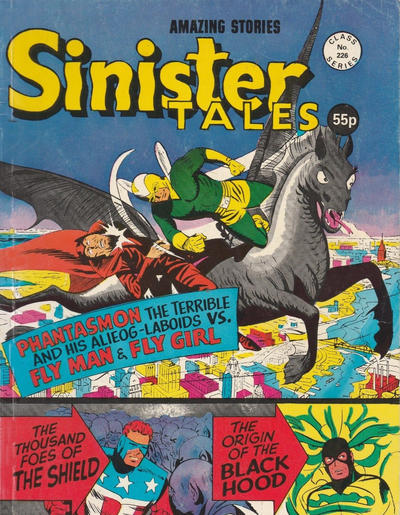 Cover for Sinister Tales (Alan Class, 1964 series) #226