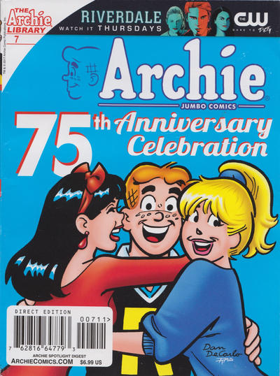 Cover for Archie Spotlight Digest: Archie 75th Anniversary Digest (Archie, 2016 series) #7