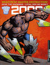 Cover for 2000 AD (Rebellion, 2001 series) #2021