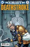 Cover for Deathstroke (DC, 2016 series) #14 [Shane Davis / Michelle Delecki Cover]