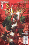 Cover Thumbnail for Suicide Squad (2011 series) #1 [2nd Printing - Red Background]
