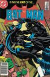 Cover for Batman (DC, 1940 series) #380 [Newsstand]