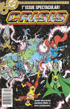 Cover for Crisis on Infinite Earths (DC, 1985 series) #1 [Newsstand]