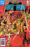 Cover for Batman (DC, 1940 series) #383 [Newsstand]