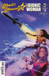 Cover for Wonder Woman '77 Meets the Bionic Woman (Dynamite Entertainment, 2016 series) #3 [Cover A]