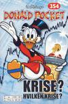 Cover Thumbnail for Donald Pocket (1968 series) #354 - Krise? Hvilken krise? [bc 239 58 FRU]