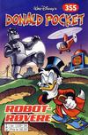 Cover for Donald Pocket (Hjemmet / Egmont, 1968 series) #355 - Robotrøvere [bc 239 58 FRU]