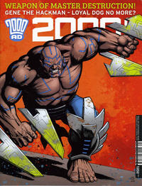 Cover Thumbnail for 2000 AD (Rebellion, 2001 series) #2021