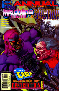Cover Thumbnail for Machine Man / Bastion '98 (Marvel, 1998 series)