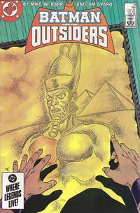 Cover Thumbnail for Batman and the Outsiders (DC, 1983 series) #18 [Direct Sales]