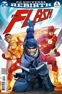 Cover Thumbnail for The Flash (DC, 2016 series) #18 [Howard Porter Variant Cover]