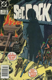 Cover Thumbnail for Sgt. Rock (DC, 1977 series) #398 [Newsstand]