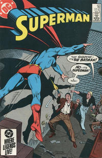 Cover Thumbnail for Superman (DC, 1939 series) #405 [Direct Sales]