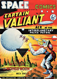Cover Thumbnail for Space Comics (Arnold Book Company, 1953 series) #51