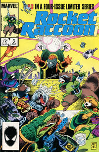 Cover Thumbnail for Rocket Raccoon (Marvel, 1985 series) #3 [Direct]