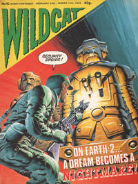 Cover Thumbnail for Wildcat (Fleetway Publications, 1988 series) #10