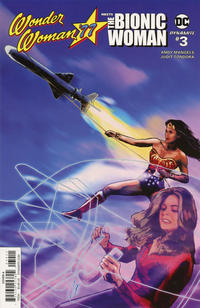 Cover Thumbnail for Wonder Woman '77 Meets the Bionic Woman (Dynamite Entertainment, 2016 series) #3 [Cover A]