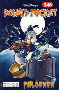 Cover Thumbnail for Donald Pocket (Hjemmet / Egmont, 1968 series) #346 - Pølsevev [1. opplag]