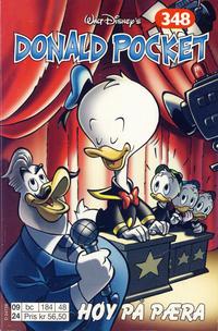 Cover Thumbnail for Donald Pocket (Hjemmet / Egmont, 1968 series) #348 - Høy på pæra [1. opplag]