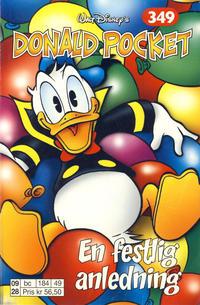 Cover Thumbnail for Donald Pocket (Hjemmet / Egmont, 1968 series) #349 - En festlig anledning [1. opplag]